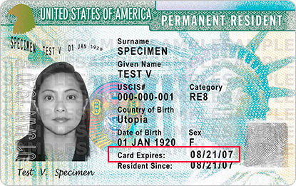 renew a green card